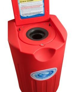 Secador y centrifugador de bañadores London Red