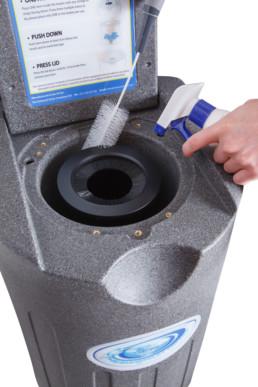 Mantenimiento secador centrifugador