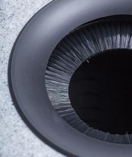 Innovador cepillo protector secador centrifugador