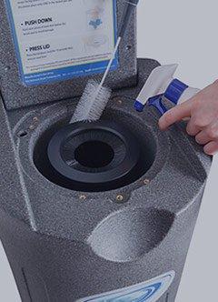 Fácil mantenimiento secador centrifugador