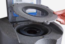 Limpieza secador centrifugador
