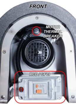 Solución de averías secador centrifugador